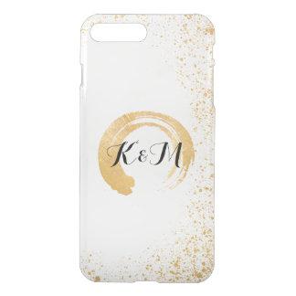 Gold Leaf Spray Wedding Gift iPhone 7 Plus Case