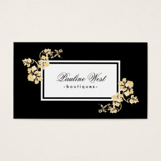 Gold Leafs | Deluxe Business Card