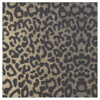 Gold Leopard Fabric