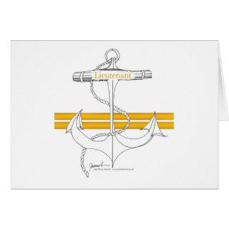 gold lieutenant, tony fernandes card