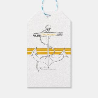 gold lieutenant, tony fernandes gift tags