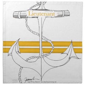gold lieutenant, tony fernandes napkin