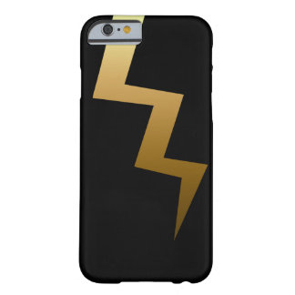 Gold Lightning Bolt Barely There iPhone 6 Case