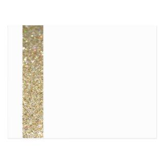 Gold line elegant modern Invitation Postcard