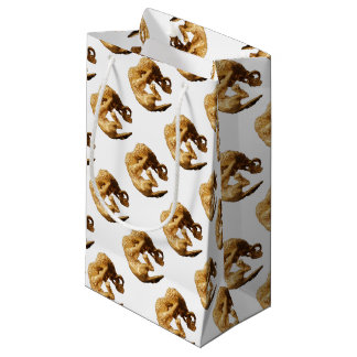 Gold Lion Small Gift Bag