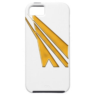 gold logo iPhone 5 cover