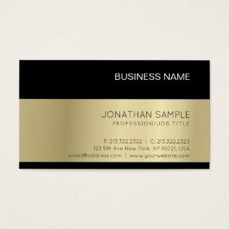 Gold Look Elegant Modern Premium Silk Luxury Business Card