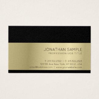 Gold Look Elegant Modern Professional Luxury Business Card