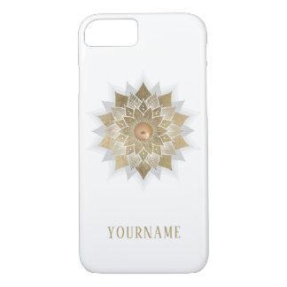 Gold Lotus Flower Mandala iPhone 8/7 Case