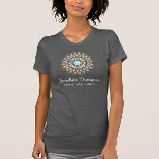 Gold Lotus Yoga and Meditation Teacher Health Spa Tshirts