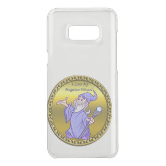 Gold Magical magician sorceress purple wizard Uncommon Samsung Galaxy S8 Plus Case