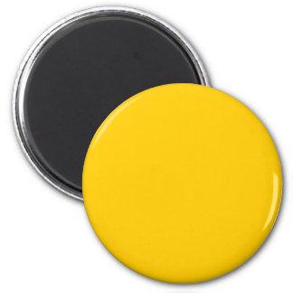 Gold 6 Cm Round Magnet