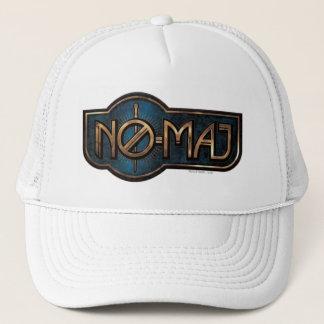 Gold & Marble No-Maj Badge Trucker Hat
