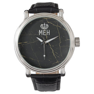 Gold Marble Royal Minor Monogram Watches
