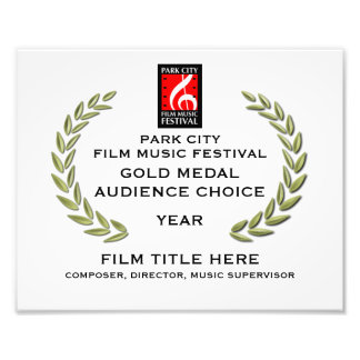 """Gold Medal Certificate 10"""" x 8"""" Photograph"""