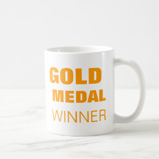 GOLD MEDAL mug