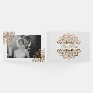 Gold Medallion Elegant Mandala Wedding