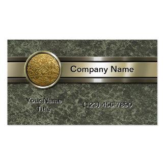 Gold Medallion Pack Of Standard Business Cards