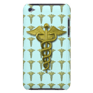 Gold Medical Profession Symbol iPod Case-Mate Case