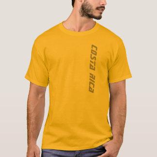 Gold Men's Costa Rica T-shirt