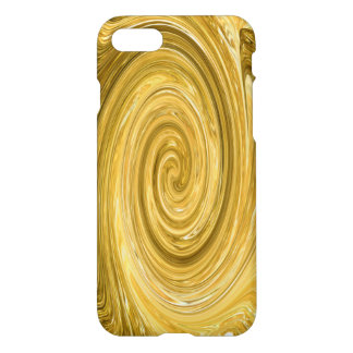 Gold Metal iPhone 7 Glossy Finish Case