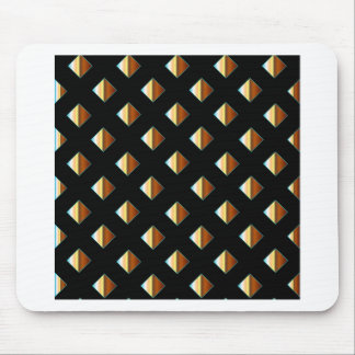 Gold metal studs mouse pad