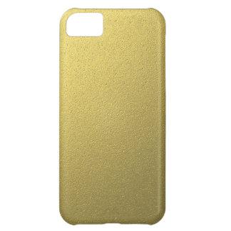 Gold Metallic Foil Effect iPhone 5C Case