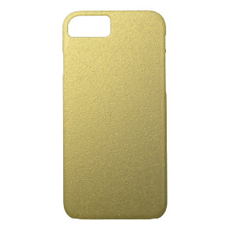 Gold Metallic Foil Effect iPhone 8/7 Case