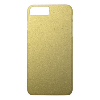 Gold Metallic Foil Effect iPhone 8 Plus/7 Plus Case