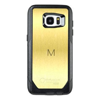 Gold Metallic Otterbox Galaxy Edge S7 Case