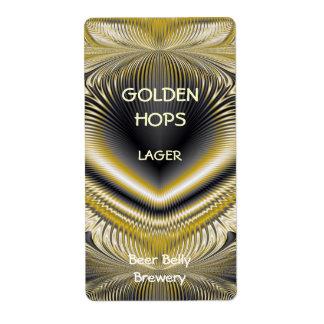 Gold Mine ~ Beer Label
