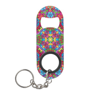 Gold Miner Kaleidoscope     Bottle Openers