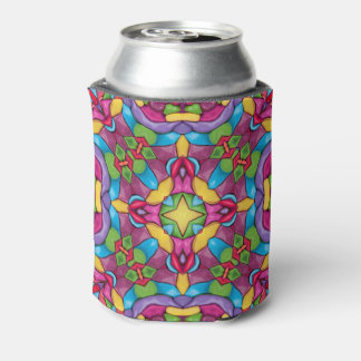 Gold Miner Kaleidoscope  Can Cooler