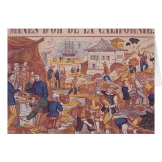 Gold Mines of California Card