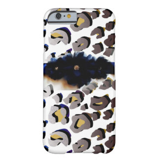 Gold Mixed Pattern Leopard Print IPhone 6 Case