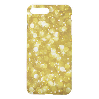 Gold Modern Bokeh Glitter Texture iPhone 8 Plus/7 Plus Case