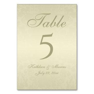 Gold Monogram Wedding Card