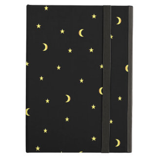 Gold Moon and Stars iPad Air Cover