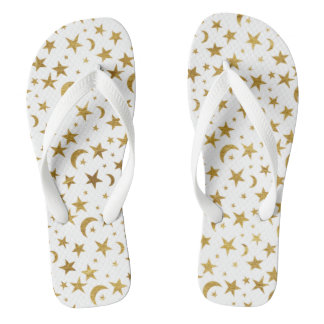 Gold Moons and Stars Thongs