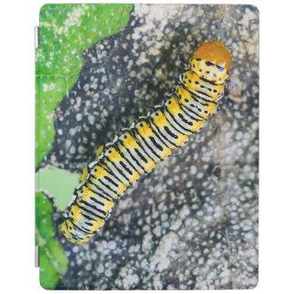 Gold Moth Caterpillar iPad Cover