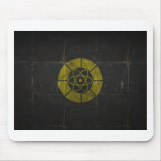 Gold Nuclear Mouse Pad