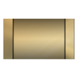 Gold On Gold Business Cards