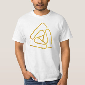 Gold Open Void Logo T-Shirt