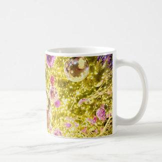 Gold Ornament Holiday Coffee Mug