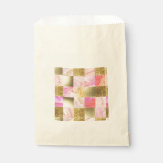 gold,pastels,water colors,squares,collage,modern,t favour bag