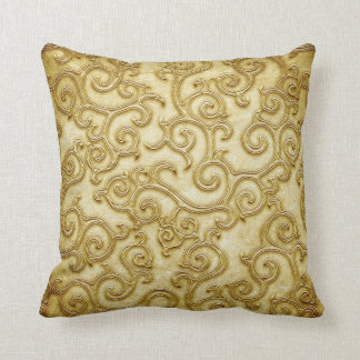 Gold pillow cushions
