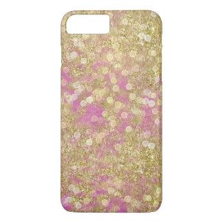 Gold Pink Sparkly Bokeh iPhone 8 Plus/7 Plus Case