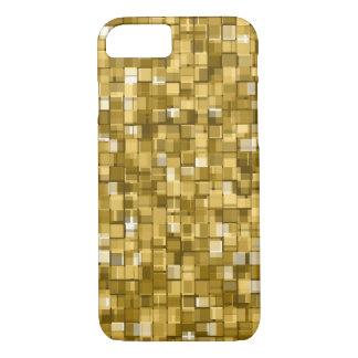 Gold pixels iPhone 8/7 case