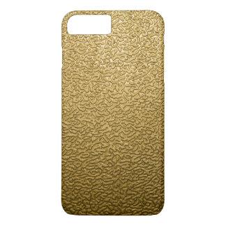 GOLD PLASTIC iPhone 7 PLUS CASE