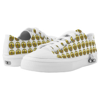 Gold playful fluffy cute kitten with cat eyes low tops